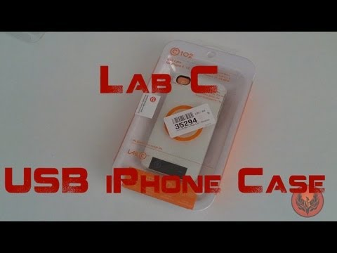 Lab C iPhone USB Case