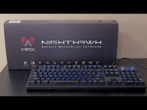 Max Nighthawk X8 (Cherry MX Brown) Backlit Mechanical Keyboard Review