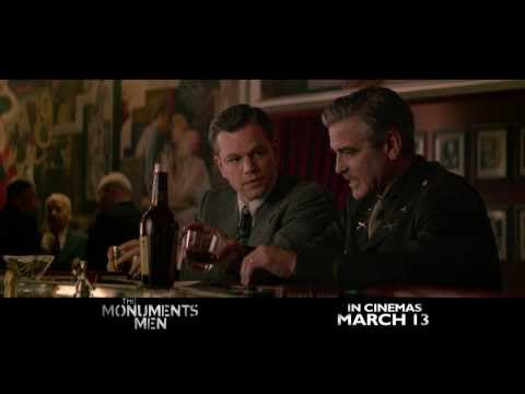 The Monuments Men Trailer In Cinemas March 13