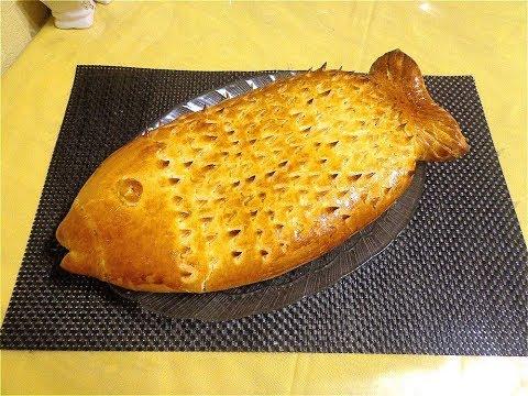 Рыбный пирог с мойвой.  Просто, вкусно, недорого, красиво!