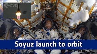 Horizons mission - Soyuz: launch to orbit