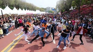 This is the first Random Play Dance in Metropolitan area! GUNPO, Korea