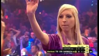 Darts Ladies World Championship 2015 Final Ashton vs Sherrock