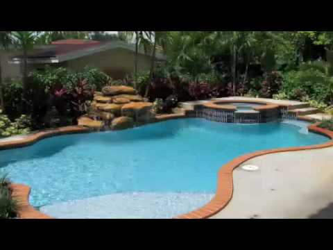 Gray dolphin pools construction inc youtube for Swimming pool construction miami