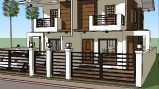 Small House Plan Design - Duplex Unit