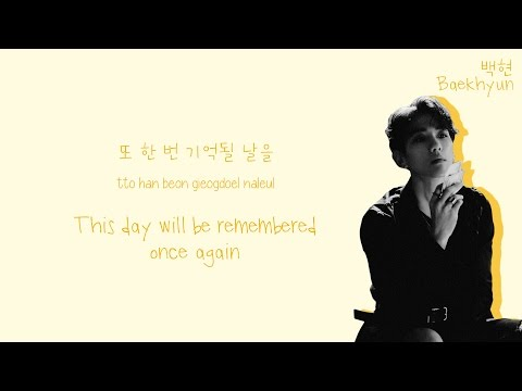 EXO 엑소 - Lotto Lyrics Color-Coded HanRomEng