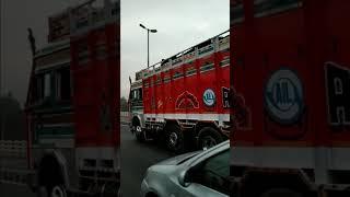 TATA new truck on road