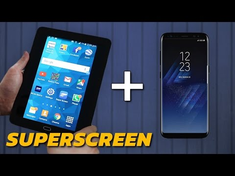 Win The Galaxy S8 Of Your Dreams With Superscreen!