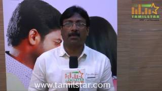 Vijay Shanmugavel At Onbathula Irunthu Pathu Varai Movie Team Interview