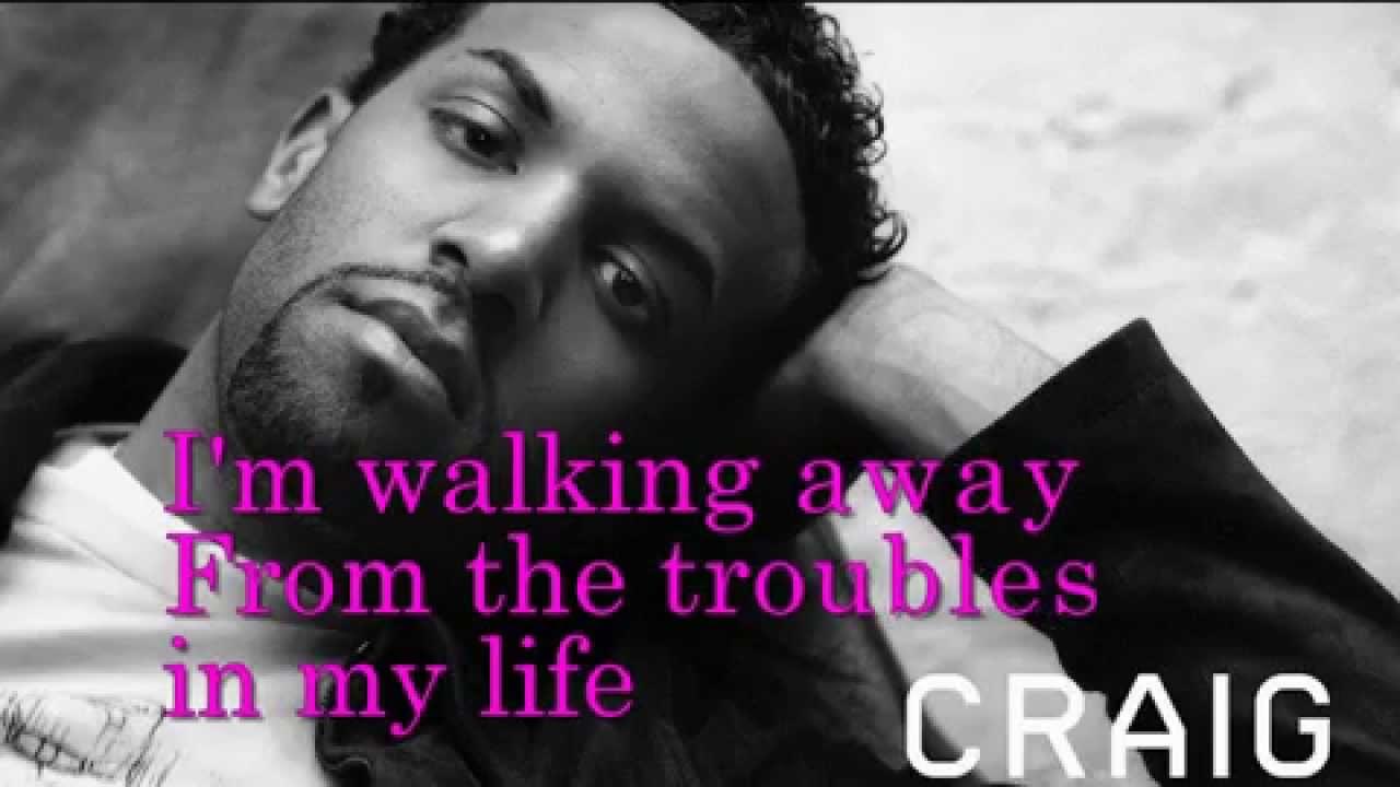 am walking away craig david