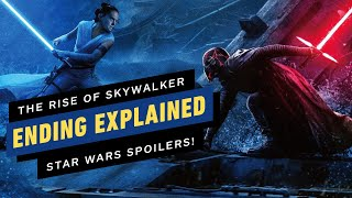Star Wars: The Rise of Skywalker Ending Explained - What Happened to Rey and Kylo Ren?