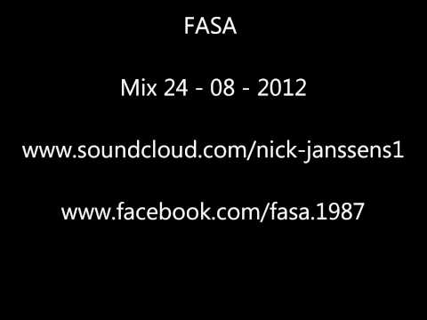 FASA - Dubstep mix 24-08-2012 including Benga Caspa Coki the others Skream