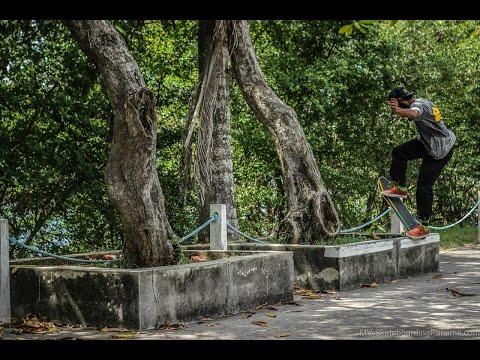 Ivan Arcia desde Amador - Skateboarding Panama