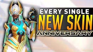 Overwatch Anniversary - EVERY NEW LEGENDARY SKIN!