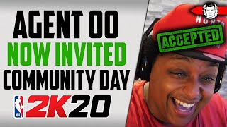 Agent 00 is Now Invited to 2K Community Day... What Does this MEAN? NBA 2K20 News