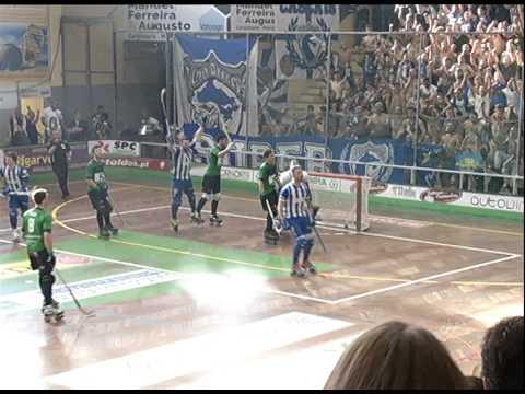H�quei em Patins: Valongo- FC Porto Fidelidade, 5-3 (30.� jornada, 31/05/14)