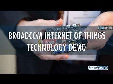 Broadcom Internet of Things technology demo