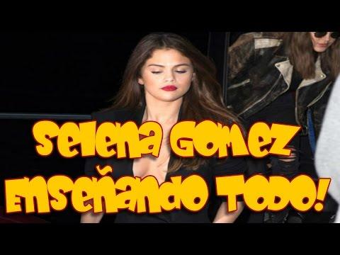 Selena Gómez enseña el tesorito a lo Laura Pausini