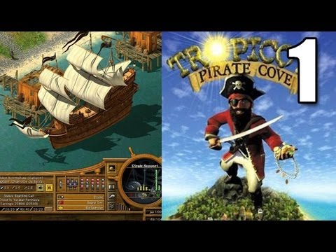 Tropico 2 Pirate Cove Part 1 - It's a Pirate's Life for Me