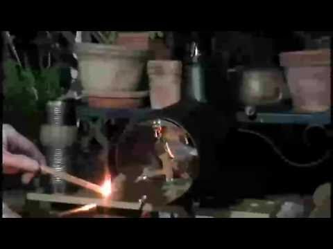 Firing Up The DIY Mini-Keg Stove w/ Sapporo Can Flue