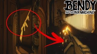 COMO CONSEGUIR LA METRALLETA SECRETA EN BENDY AND THE INK MACHINE CHAPTER 3 EASTER EGG