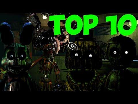 Five Nights At Freddy's 3 - Топ 10 Теория о Фантомах!  - 5 Ночей у Фредди