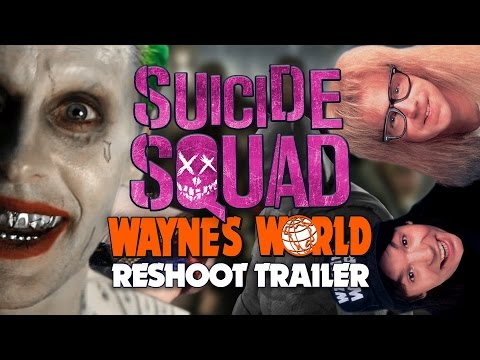 Suicide Squad Wayne's World Reshoot Trailer | PARODY |  Lowcarbcomedy