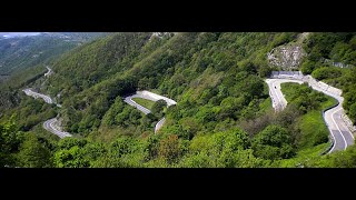 In Moto ... attraverso gli Appennini ( On the Motorcycle ... crossing the Apennines ) HD