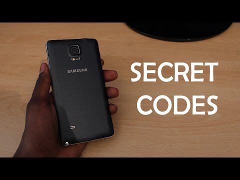 Samsung Galaxy Note 4 - SECRET CODES
