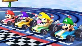 Mario Party The Top 100 Minigames - Mario vs Waluigi vs Luigi vs Wario