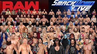 All WWE WRESTLERS 2019 Real Name & Age - WWE Superstars 2019