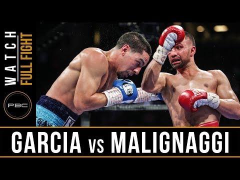 FULL FIGHT: Danny Garcia vs Paulie Malignaggi - 8/1/2015 - PBC on ESPN