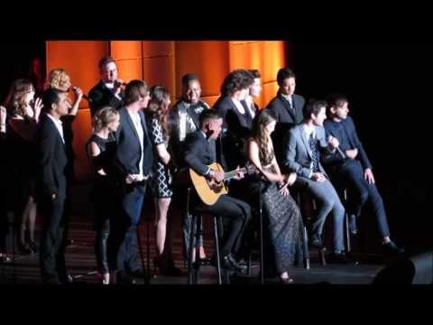 Glee Cast Tribute To Jane Lynch  Trevor Live 12 8 13 (full Introduction & Performance) video