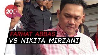 Waduh! Farhat Abbas Laporkan Nikita Mirzani