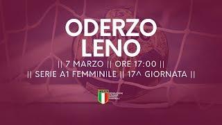 Serie A1F [17^]: Oderzo - Leno 30-23