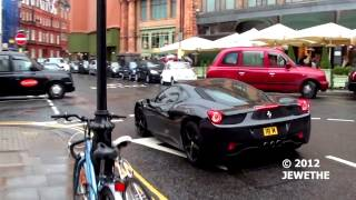 Supercars in London CL63 AMG, MC Stradale, SLS AMG and more!   Part 3 1080p Full HD