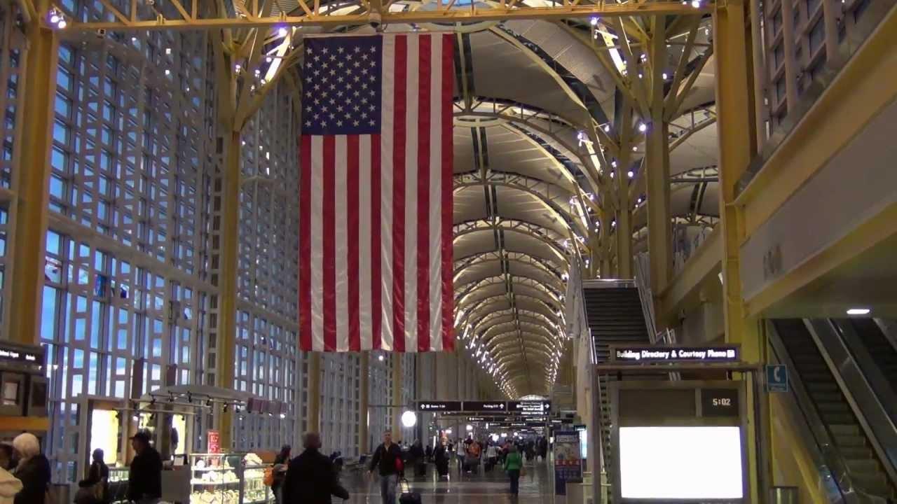 An HD video of Washington Reagan National Airport -- main ...