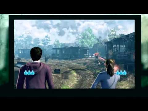 Harry Potter: Deathly Hallows Game KINECT TUTORIAL
