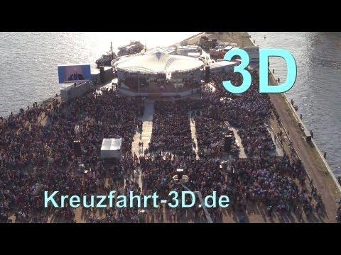 3D-Video 34. Evangelischer Kirchentag Hamburg 01.05.2013: Joachim Gauck, Werner Thissen, Olaf Scholz