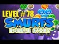 smurf bubble story game level 78 | the lost village game