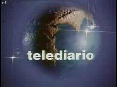 Telediario cabecera 1974