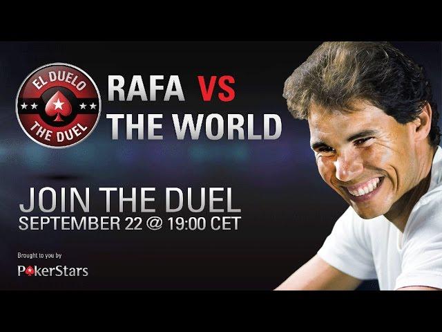 Rafael Nadal vs. the World Live Poker Challenge – PokerStars