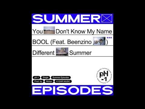pH-1 - Different Summer (Prod. Mokyo) [Summer Episodes]