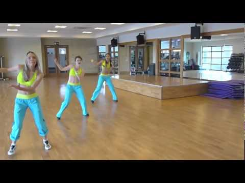 Zumba For '1 Goal'- Shakira's Waka Waka video