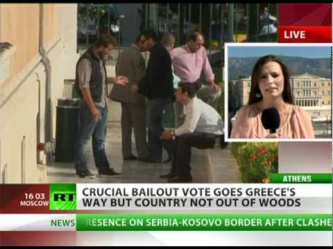 Postponing Agony: Greece on EU cash needle