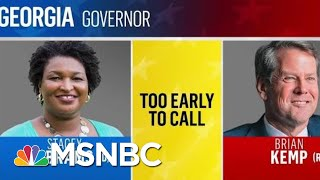 Polls Now Closed In Georgia | MSNBC