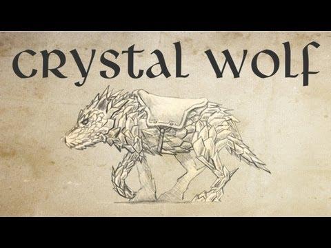 Tibia Como domar o Crystal Wolf Montaria