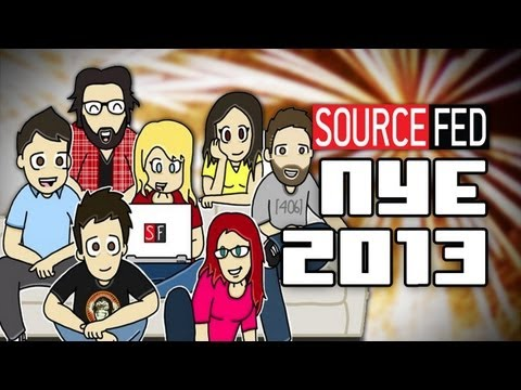 New Year's Resolutions - SourceFed Style!!