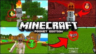 ✔️Minecraft PE - 5 THINGS YOU MIGHT HAVE NOT KNOWN [MCPE] | Tips, tricks, facts, and glitches