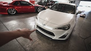 Restoring the paint on my NEW FRS!